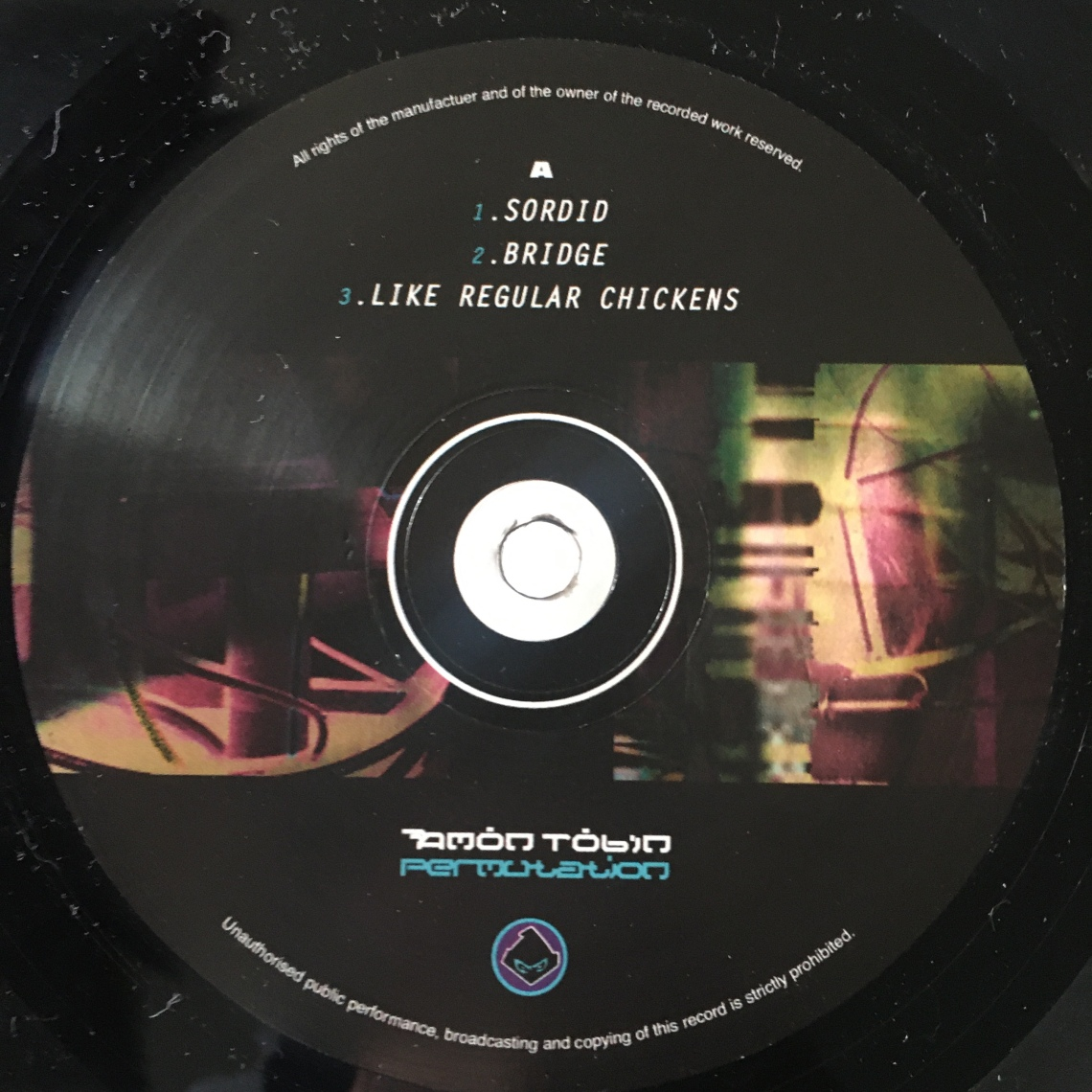 Amon Tobin Permutation label